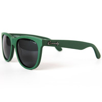 THE SEEKER SUNGLASSES IN MATTE GREEN BY KENNEDY