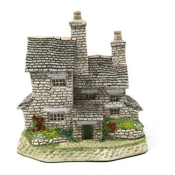 Stonecutter's Cottage David Winter Cottages 1995 Tudor Style Home Sculpture