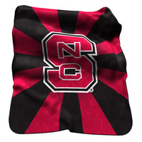 Logo Chair Inc. Nc State Raschel Throw
