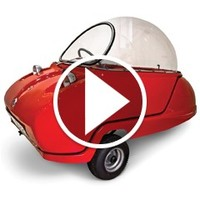 The Electric Peel Micro Car