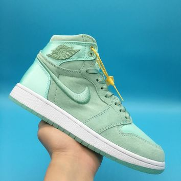 Air Jordan 1 SOH AJ1 Mint Green  Basketball  Sneaker