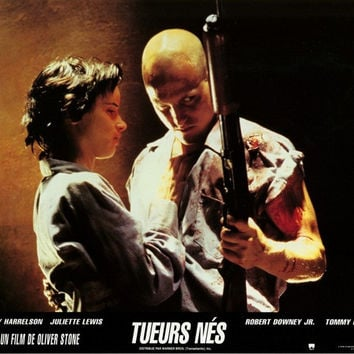 Natural Born Killers (French) 11x14 Movie Poster (1994)