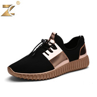 Glossy Gold Men&women Casual Shoes