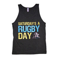 Saturday Rugby Day Tank Top