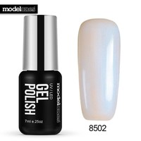 White Color Pearl Gel Polish Soak Off Shell UV Nail gel Polish