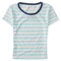 Aeropostale  Striped Crop Tee