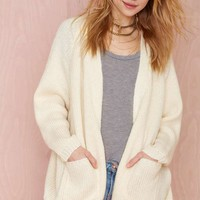 UNIF Hole Wool Cardigan - Ivory