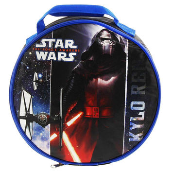 Star Wars Episode 7 Round Insulated Lunch Bag