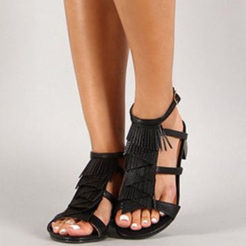 Fringe Affair Sandals