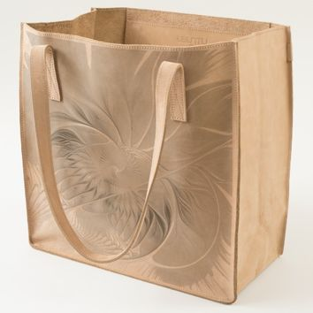 Floral Fantasy, abstract and modern Fractal Art Tote