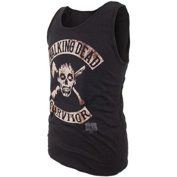 PEAPGQ9 Walking Dead - Survivor Rocker Tank Top