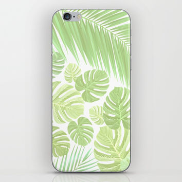 Pastel colors jungle iPhone Skin by exobiology