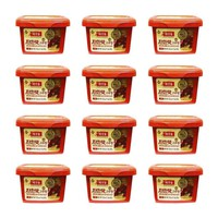 Free Shipping | 12-Pack Haechandle Gochujang Hot Chile Paste, Made in Korea (1.1 lbs x 12)