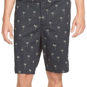 Men's rag & bone 'Wilson' Palm Print Shorts,