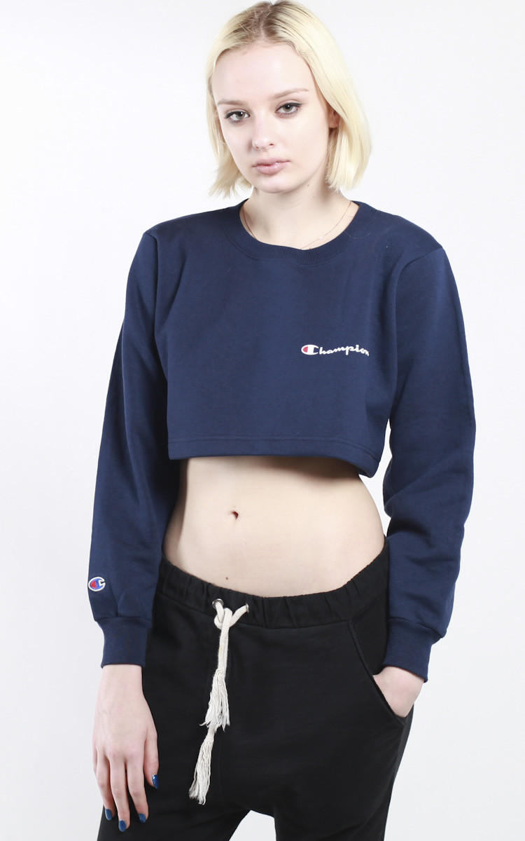 baf7a385b966a Vintage Champion Crop Sweatshirt from Frankie Collective