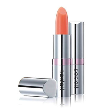 Cosmetic Orangepink Color Change Hydrated Lip Balm LipStick