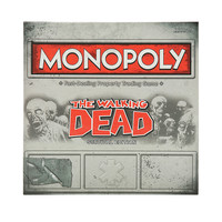 Monopoly: The Walking Dead Survival Edition Board Game