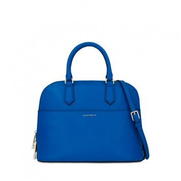 Coccinelle top handle in saffiano leather - Coccinelle Bags