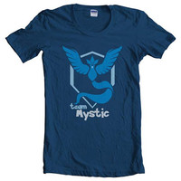 Team Mystic Women Tshirt tee