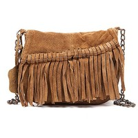 Sorpresa Fringe Crossbody Purse