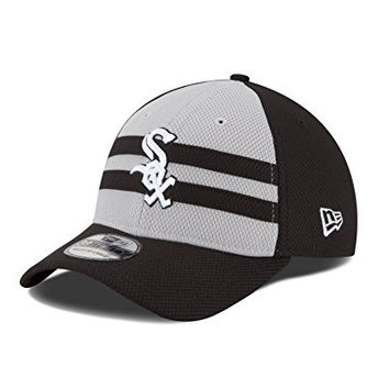 MLB Chicago White Sox 2015 Replica All Star Game 39THIRTY Stretch Fit Cap, Medium/Large, Black