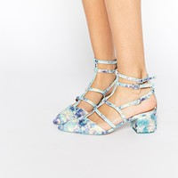 ASOS SPECTACLE Caged Pointed Heels at asos.com