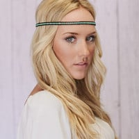 Beaded Friendship Wrap Headband - three bird nest