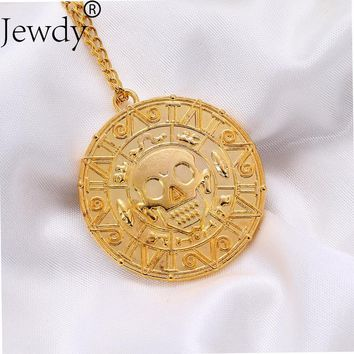 Pirates of the Caribbean Johnny Depp Aztec pendant Necklace fashion jewelry for men women