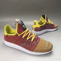 """Adidas NMD HU"" Fashion Casual Knit Fly Line Unisex Sneakers Couple Running Shoes"