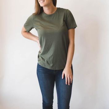 Basic Short Sleeve - Olive