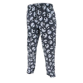 Nightmare Before Christmas Lounge Pant, Midnight Jack Head