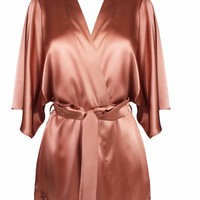 Whiskey Silk Robe