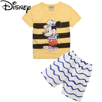 Disney summer baby boys clothing set kids Baby Clothing