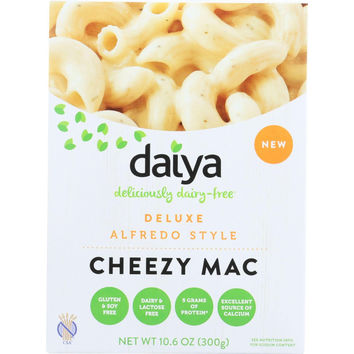 Daiya Foods Inc Cheezy Mac - Deluxe - Alfredo Style - Dairy Free - 10.6 Oz - Case Of 8
