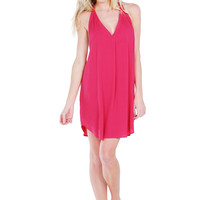 Riva T-Back Beach Cover Up Dress