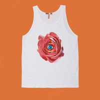 MSGM and Toilet Paper Eye Rose Printed Tank - WOMEN - SALE - MSGM and Toilet Paper