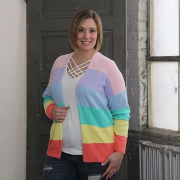 60a101c4eb Best Rainbow Striped Sweater Products on Wanelo