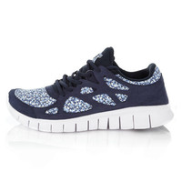 Free Run+2 Pepper Liberty Print Trainers, Nike. Shop more trainers from the Nike collection online at Liberty.co.uk
