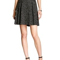Banana Republic Womens Factory Jacquard Flare Skirt
