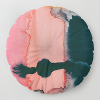 Intuitive Floor Pillow by duckyb