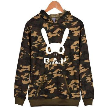 DCCKLM3 Street Tide Brand Rabbit skateboard head hooded sweater Jacket Hip-hop men's female style spring new