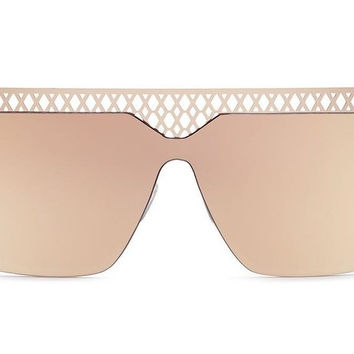 Quay Hall of Fame Rose Gold / Pink Sunglasses