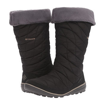 Columbia Heavenly Omni-Heat Slip Black/Kettle - Zappos.com Free Shipping BOTH Ways