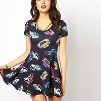 Joyrich Car Skater Dress