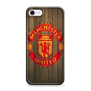 manchester united devils wood iPhone 6 | iPhone 6S case