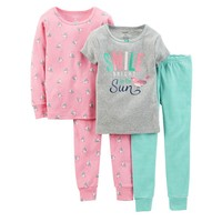 Carter's Bird Pajama Set - Toddler Girl, Size: