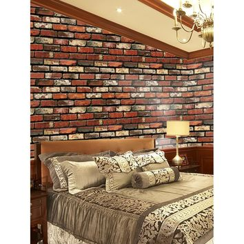 Old Brick Wall Mural