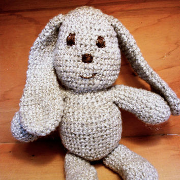 Crochet Rabbit Stuffed Animal Amelie by RopeSwingStudio on Etsy
