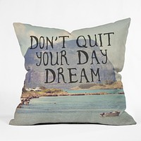 Maybe Sparrow Photography Day Dream Throw Pillow