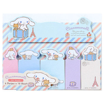 Buy Sanrio Cinnamoroll Die Cut Sticky Note & Tab Set at ARTBOX